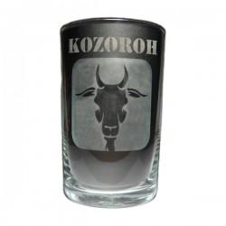 """Sklenička se znamením """"KOZOROH"""", varianta 1"""