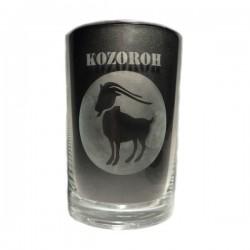 """Sklenička se znamením """"KOZOROH"""", varianta 3"""