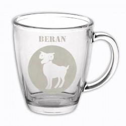 """Hrneček se znamením """"BERAN"""", varianta 3"""