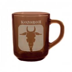 """Kouřový hrneček se znamením """"KOZOROH"""", varianta 1"""