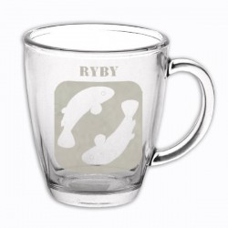 """Hrneček se znamením """"RYBY"""", varianta 1"""