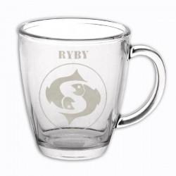 """Hrneček se znamením """"RYBY"""", varianta 2"""