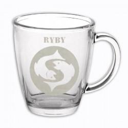 """Hrneček se znamením """"RYBY"""", varianta 3"""