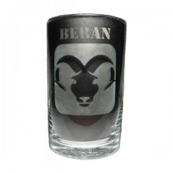 """Sklenička se znamením """"BERAN"""", varianta 1"""